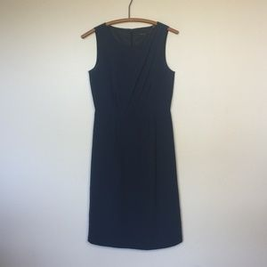 ESPRIT Collection Classic Navy Silk Dress 4 EUC